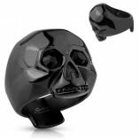 Кольцо из стали с черепом R-S1021