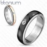 Кольцо из титана парное  R-TI-4403
