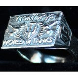 Кольца World of Tanks (серебро)