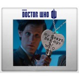 Кулон My Heart Belong To Who Doctor Who