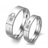 Парные кольца для влюбленных арт. DAO_008