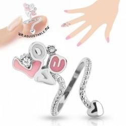 Кольца на фаланги и кончики пальцев