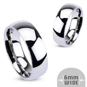 Обручальные парные кольца из стали R001-6