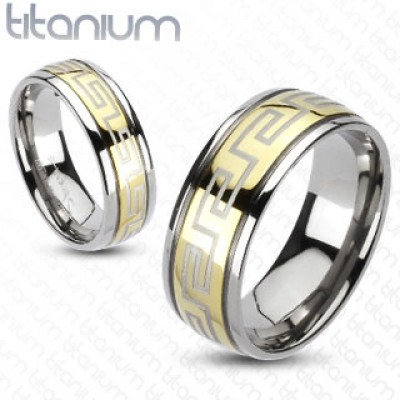 Кольцо из титана R-TM-3054