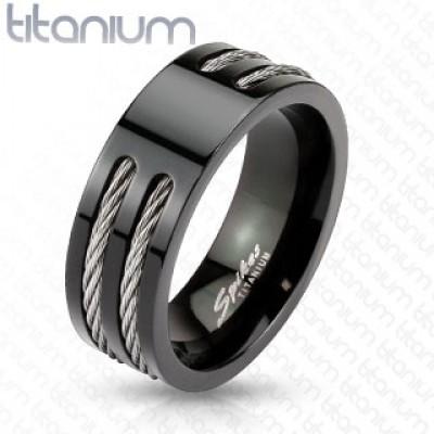 Кольцо из титана R-TM-3653