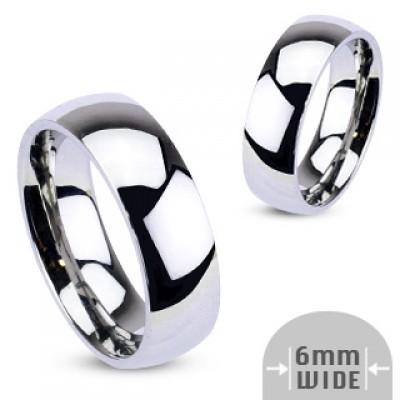 Парные обручальные кольца из стали R001-6