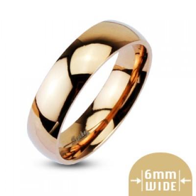 Кольцо из стали, бронза R005-6