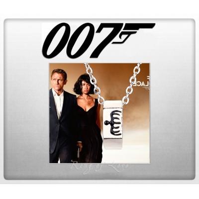 "Кулон с кольцом ""Спектр"" из фильма Джеймс Бонд агент 007"
