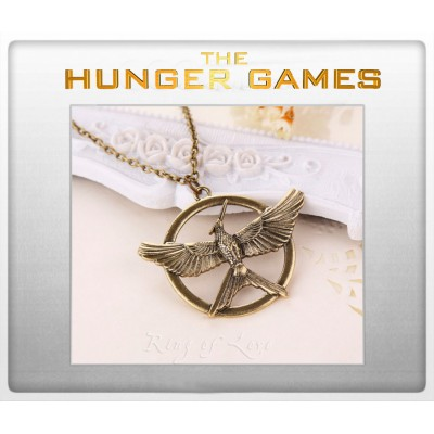 "Кулон ""Mockingjay. The Hunger Games"". Голодные игры"