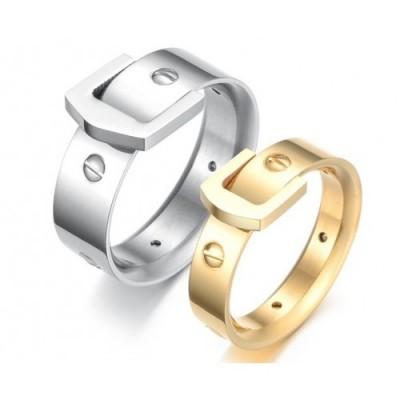 Парные кольца для влюбленных dao_021 (сталь 316L)