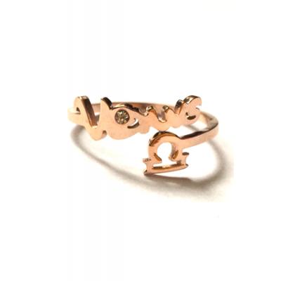 Кольцо Zodiac Весы - Libra