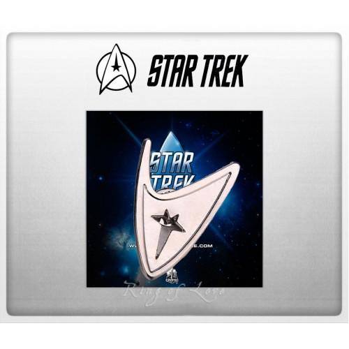 Брошь с логотипом легендарного фильма Star Trek 7ec40e3fd77