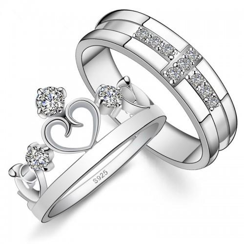 серебряные обручальные кольца фото и цены